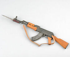 """1:6 Scale AK47 Assault Rifle Weapon Model With Bayonet For 12"""" Action Figure"""