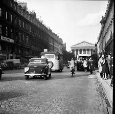 PARIS c. 1939 - Autos Circulation La Madelaine - Négatif 6 x 6 - N6 P123