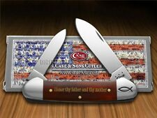 CASE XX 5th Commandment Chestnut Bone Canoe 1/500 Stainless Pocket Knives Knife
