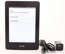 Amazon Kindle Paperwhite, 2nd Gen, Wi-Fi + 3G, Black  *37-5C