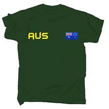 Bandera De Australia T-Shirt Aussie OZ Down Under Juegos De Deporte Regalo Divertido Cumpleaños