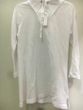 JAMES PERSE STANDARD white Long Sleeve  Pull-String Hoodie Top Sz 2 m new women