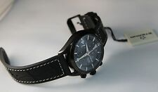 New Eterna 1241' Men's KonTiki Automatic PVD Chronograph Watch,  Black Rubber