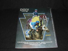 SONGBIRD 2016 PHILADELPHIA PARX HORSE RACING COTILLION PA DERBY PROGRAM & PHOTO