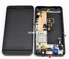 New Blackberry Z10 LCD Screen Display + Touch Digitizer Glass Assembly w/ Frame