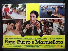 FOTOBUSTA CINEMA - PANE BURRO E MARMELLATA - E. MONTESANO - 1977 - COMMEDIA - 04