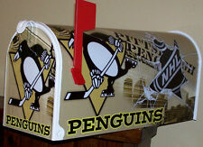 PiTTSBURGH PENGUINS CUSTOM MAiLBOX jersey hats