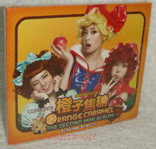 After School Orange Caramel The Second Mini Album Vol.2 Taiwan CD (digipak)