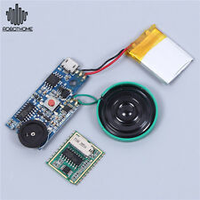 DC5V Key Control Play Board Music Sound Voice Chip Module For Greeting Card