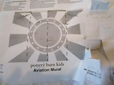 Pottery Barn Kids Aviation Wall mural New