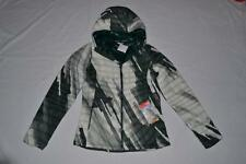 THE NORTH FACE WOMENS THERMOBALL HOODY WHITE/GREEN XS XSMALL AUTHENTIC NEW
