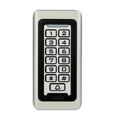 Waterproof IP68 Keypad Standalone Door Access Control Home Gate Entry Controller