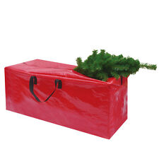 Large Christmas Heavy Duty Tree Storage Bag For Clean Up Holiday Green Up to 9ft