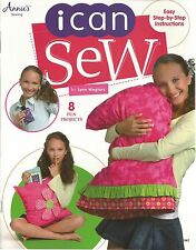 I Can Sew Beginners Kids How To Learning Sewing Instruction Annie's Attic NEW