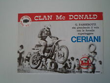 advertising Pubblicità 1977 CERIANI e MOTO KTM e PASSEROTTI