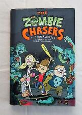 2010 THE ZOMBIE CHASERS Hardcover Book with Jacket by John Kloepfer