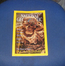 NATIONAL GEOGRAPHIC MAGAZINE MAY 2002 - FOOD/MOTHS/GUYANA EXPEDITION/MUMMIES