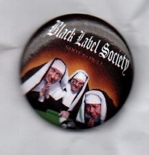 BLACK LABEL SOCIETY RARE BUTTON BADGE - AMERICAN HEAVY METAL BAND ROCK