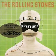 "45 TOURS / 7"" JUKE BOX--THE ROLLING STONES--EMOTIONAL RESCUE / DOWN IN THE HOLE"