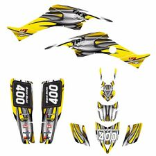 TRX400EX graphics 1999 - 2007 Honda 400EX stickers kit #1200-Yellow