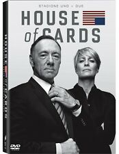 HOUSE OF CARDS - STAGIONE1 & 2 (8 DVD) COFANETTO SERIE TV con Kevin Spacey
