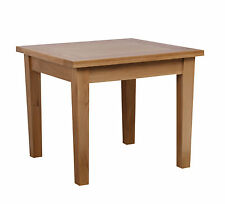 100% Solid Oak Square Dining Table RRP £329.00