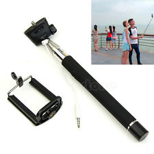 Extendable Self Portrait Selfie Handheld Stick Monopod for iPhone Samsung Phones