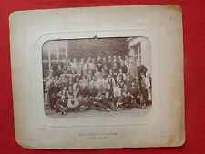 ANCIENNE PHOTO DE CLASSE DE  L ECOLE SPECIALE D ARCHITECTURE PARIS 1908/1909