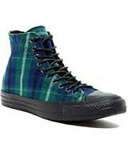 New Converse All Star Chuck Taylor High Top Shoe 150840C Plaid Men 10.5 Wmn 12.5