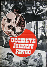 UCCIDETE JOHNNY RINGO brochure film 1966 Brett Halsey Greta Polyn Ray Scott