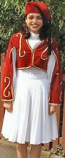 National Greek Greece Womens Countries Fancy Dress Costume Size 10-12 P8628