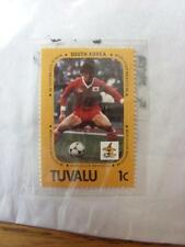 1986 World Cup Stamp: Tuvalu - South Korea Player