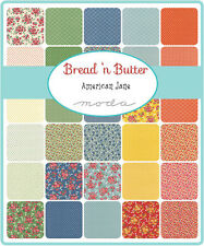 Bread N Butter American Jane Floral Moda Quilt  Fabric Layer Cake 42 sqs 10""