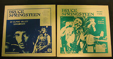 BRUCE SPRINGSTEEN At Alpine Valley original 4 LP Vinyl Set Parts One & Two