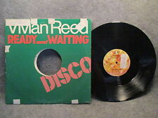 33 RPM LP Record Vivian Reed Ready & Waiting 1979 United Artists UA-P5004-D EXC