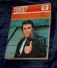 HAPPY DAYS  Caro Fonzie 1978 illustrato  vocabolarietto TV ed. La Sorgente Libro