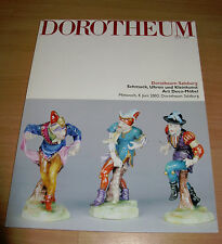 Dorotheum Salzburg Schmuch Uhren Kleinkunst Art Deco June 2003 Auction Catalog