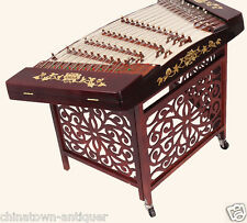Professional & Beginner Red Aged Rosewood Red straw App402 Dulcime YangQin #4016