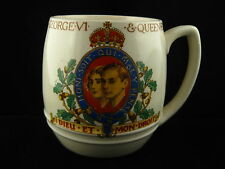 KING GEORGE QUEEN ELIZABETH CORONATION MUG by Green & Co. 1937