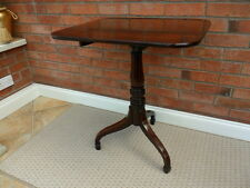 A Superb George lll Circa 1780 solid Mahogany Tilt-Top Tripod Table