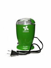 110 volt Green Electric Tobacco Shredder - Cuts Bulk leaf, plug or pipe tobacco!