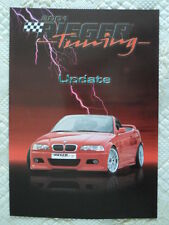 BMW RIEGER Tuning E46 Coupe & Cabrio GTR 2001 update brochure - M3 3 Series