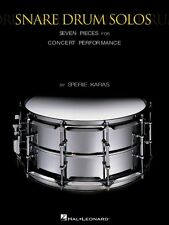 Snare Drum Solos Seven Pieces for Concert Performance Percussion NEW 006620079