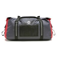 Aqua Quest White Water - Waterproof Durable Duffel Travel Gym Dry Bag - 50L Gray