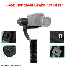 AFI VS-3SD Handheld 3-Axis Brushless Steady Gimbal Stabilizer For Canon Cam NEW
