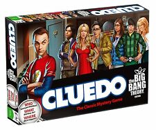 Cluedo Big Bang Theory Board Game