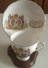 King George VI Queen Elizabeth Made in England 1939 Teacup and Saucer