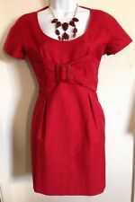 See By Chloe Red Bodycon Dress Size 4