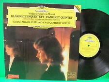 Mozart / Weber Sabine Meyer NM+/VG++ GERMAN IMPORT Deutsche Grammophon 410 670-1