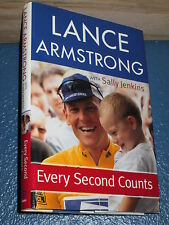 Every Second Counts by Sally Jenkins and Lance Armstrong HC/DJ 1st 0385508719